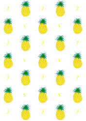 Printable Pineapple Template