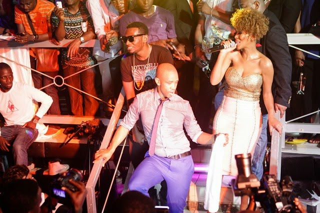 9 Pics: Davido, Mafikizolo, Kcee,Sound Sultan @Tchelete video launch