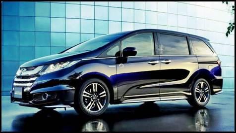 2016 Honda Odyssey Hybrid Revolution Minivan