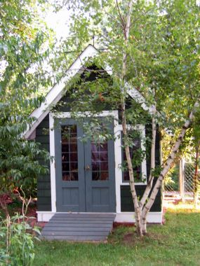 Garden potting sheds for Garden shed for lawn mower