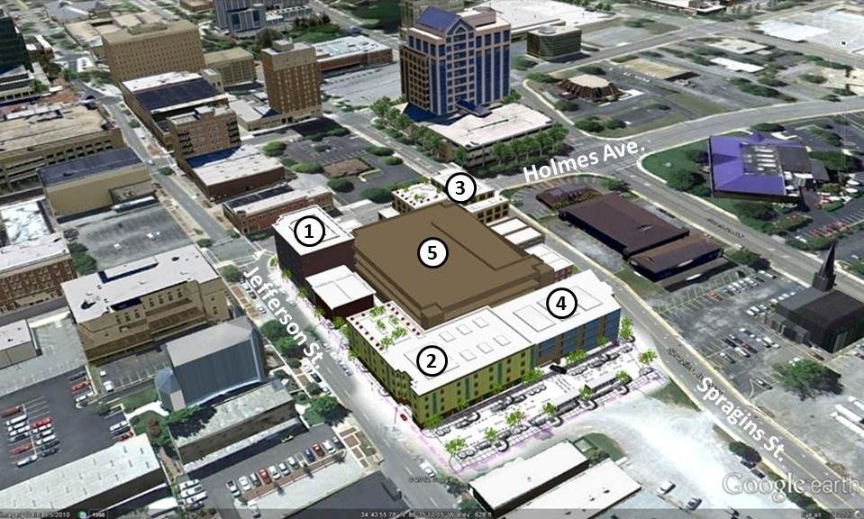 Huntsville Development News For Quot Signature Tower Quot Site A