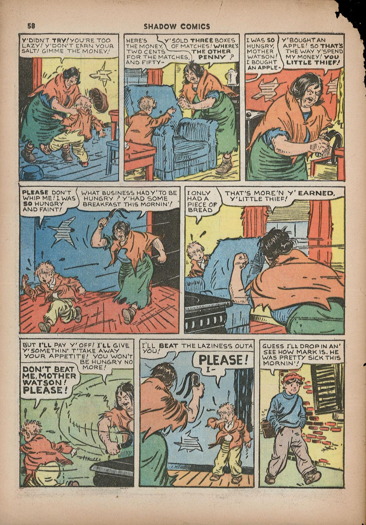 Read online Shadow Comics comic -  Issue #2 - 61