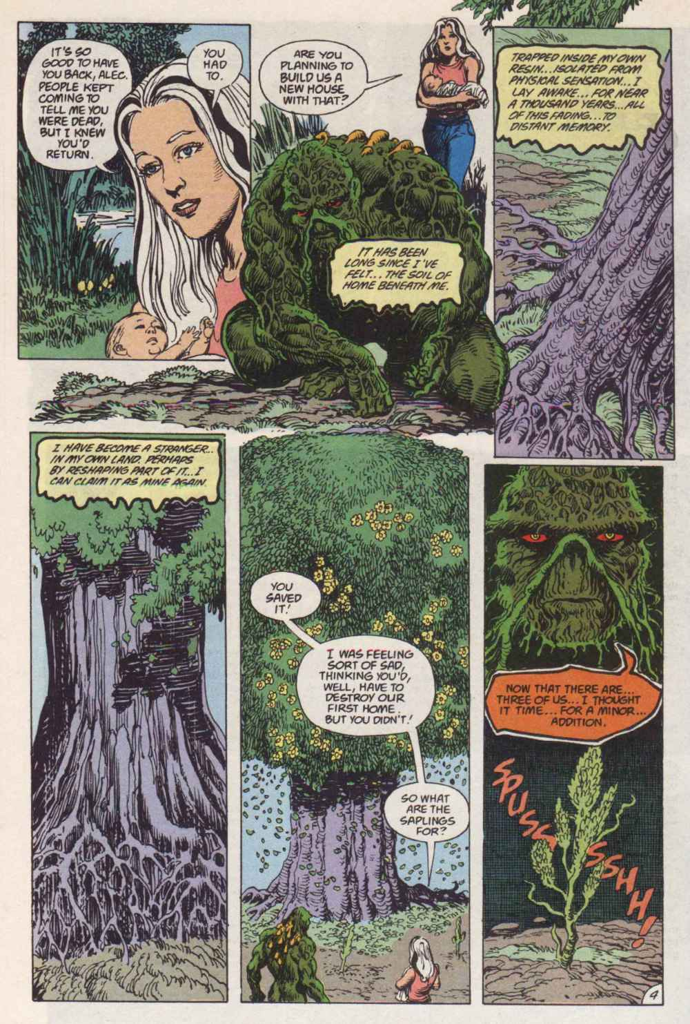 Swamp Thing (1982) Issue #91 #99 - English 4
