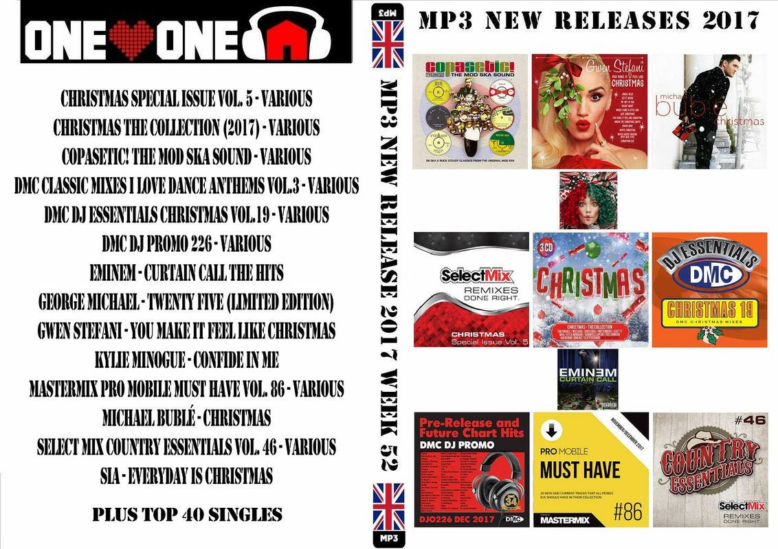 Music Riders Various Artists: MP3 NEW RELEASES 2018 WEEK 01