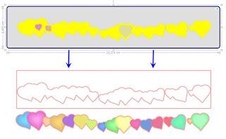Übrsicht: optimale Markierung und Ergebnis der Nachzeichnung