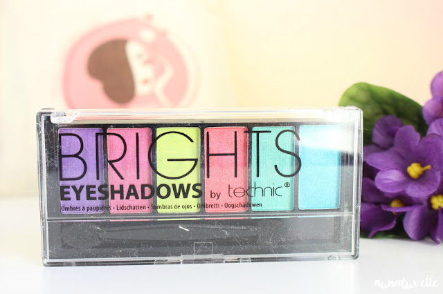 palette maquillage brights by technic