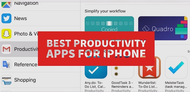 To accomplish your daily tasks faster using your iPhone, try these best free productivity apps for iPhone and iPad. With Productivity Apps, you can manage your all tasks