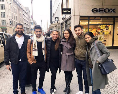 Shraddha-Kapoor-celebrate-birthday-with friends-europe