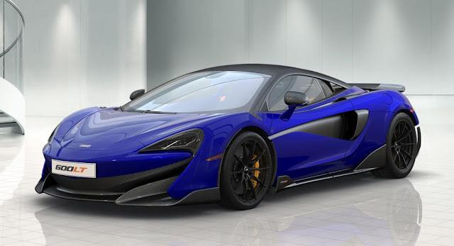 McLaren, McLaren 600LT, Tech