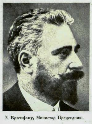 Bratianu, Prime Minister