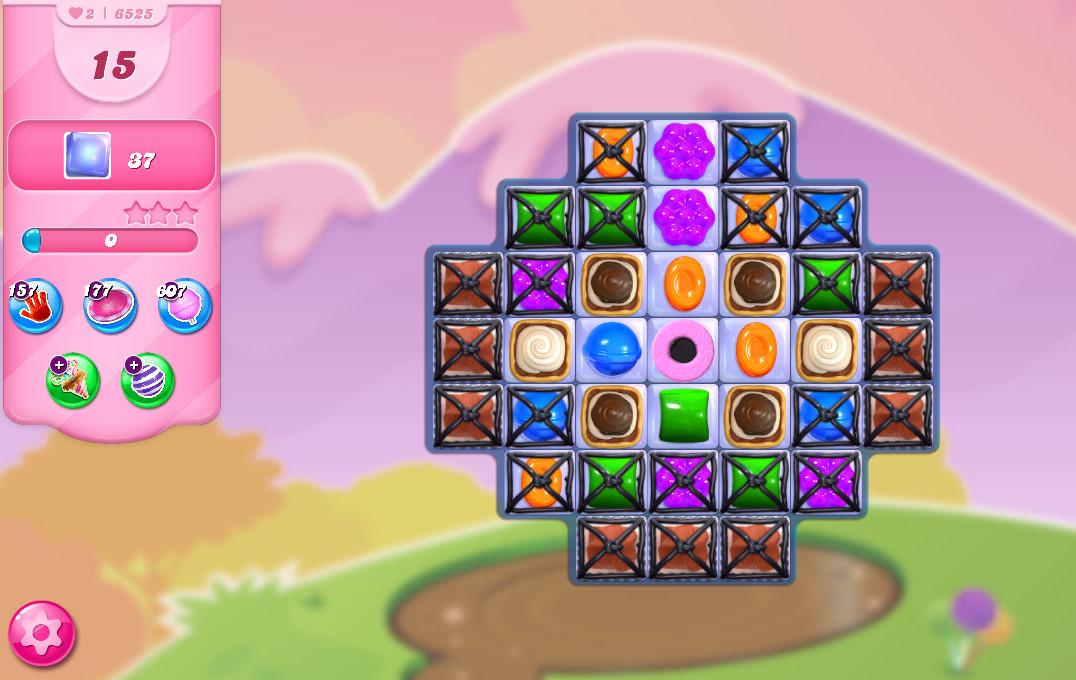 Candy Crush Saga level 6525