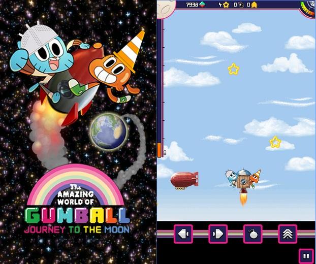 Juego Aventura Espacial De Gumball Los Mejores Juegos Android