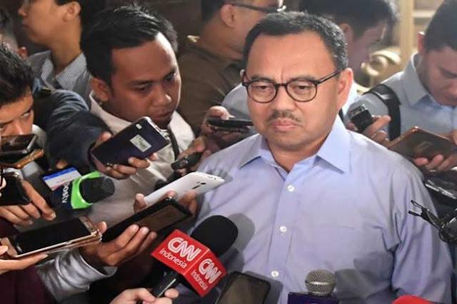 BPN Prabowo-Sandi, Sudirman Said Tuding Jokowi Bohong Saat Debat Capres Kedua