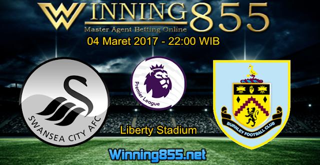 Prediksi Skor Swansea City vs Burnley 04 Maret 2017