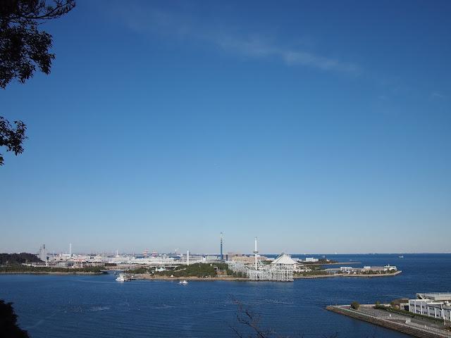 横浜 金沢 野島公園 展望台 八景島