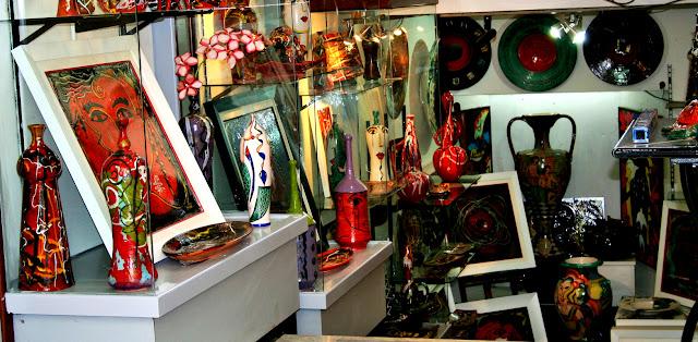 colori, ceramiche, vasi, accessori