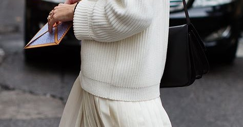 Your Perfect Look: STREET STYLE INSPIRATION; PLEATED MIDI ...