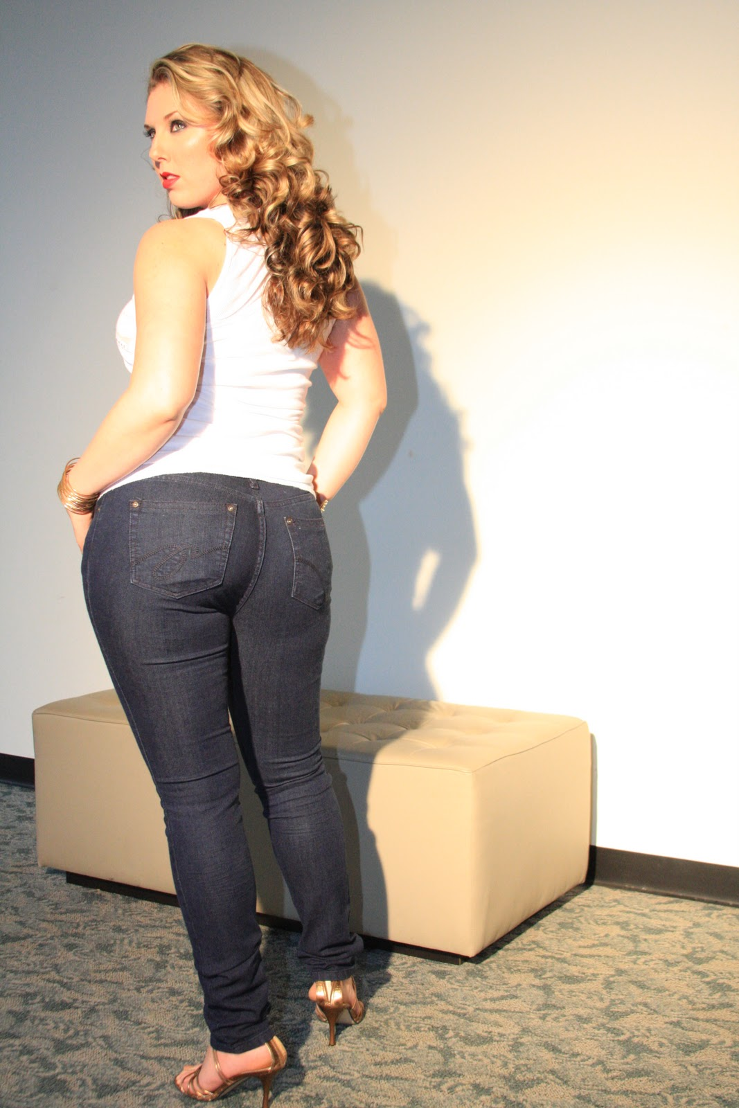All About Fashion Collection Tight Jeans Ladies-8673