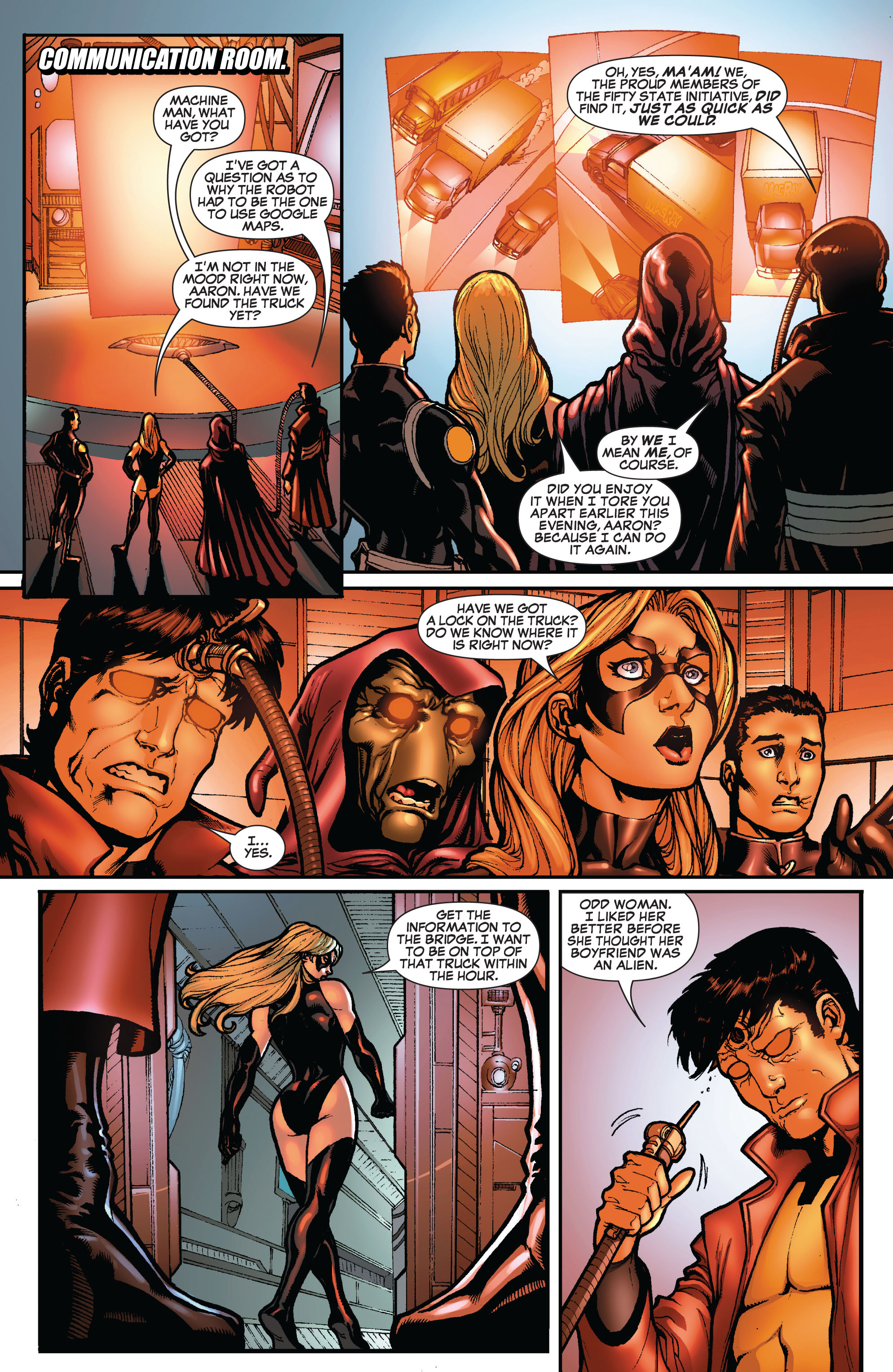 Read online Secret Invasion: The Infiltration comic -  Issue #10 - 6