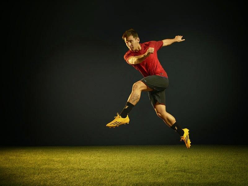 Nuevos botines adidas adizero f50 Messi Gold!  6a19a147a8315