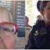 Elderly Lady Sees What's On Officer's Badge, Decides To Make Her Life A Living Hell (Video)