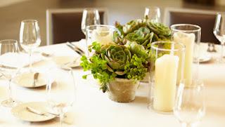 Centros de mesa ecológicos