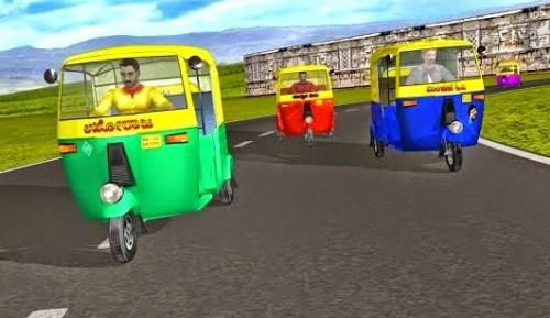 تحميل لعبة سباق التكاتك للكمبيوتر Rickshaw Racing من ميديا فاير