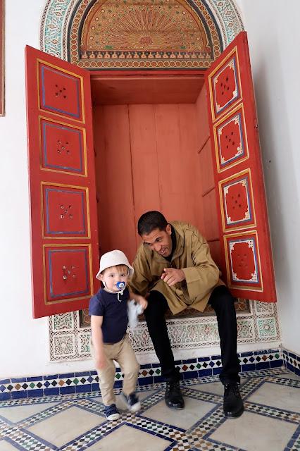 visita guiada medina Marrakech a golpe de objetivo