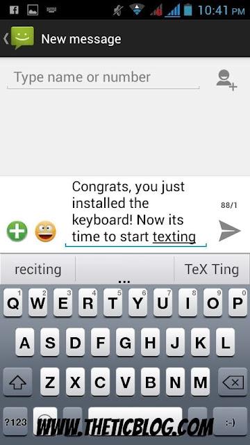 How Emoji Keyboard 6 looks, preview of Emoji Keyboard 6