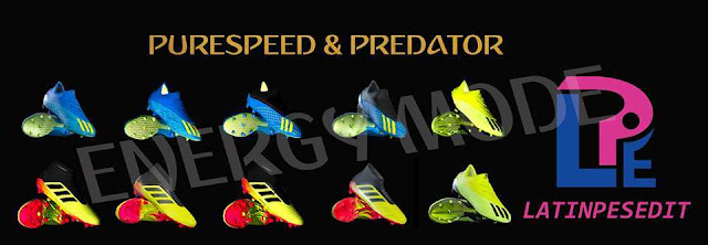 Adidas Purespeed & Predator Pack Boots PES 2017