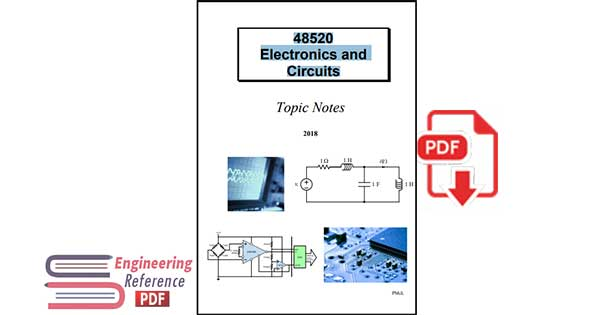 48520 Electronics and Circuits: Topic Notes