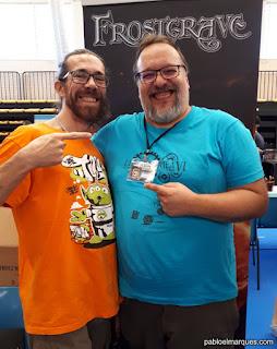 Pablo El Marques con Tiberio de HT Publisher