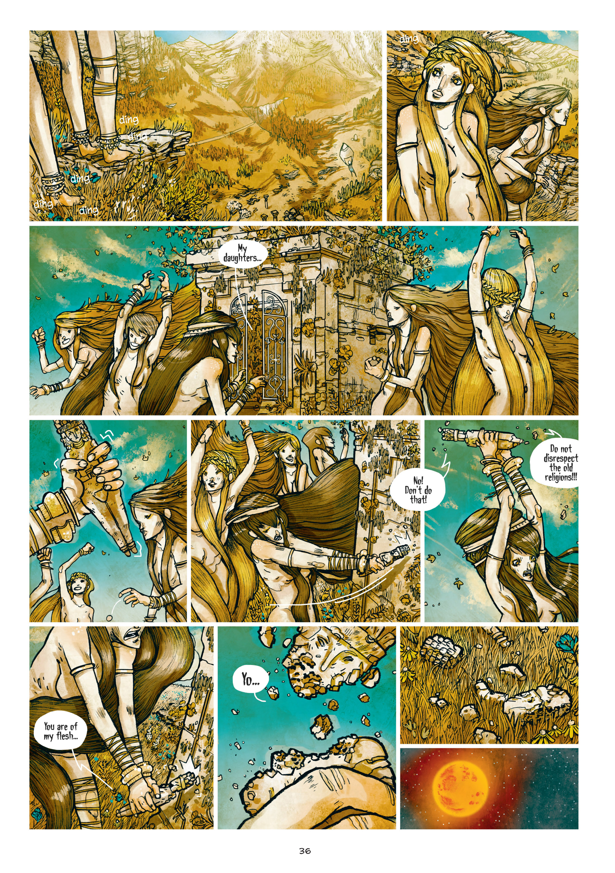 Read online Adrastée comic -  Issue #1 - 37