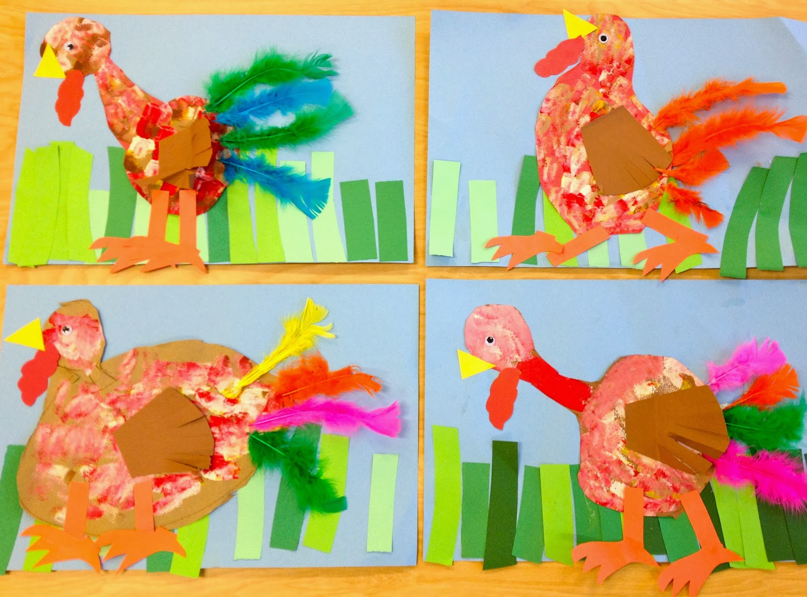Kinder Garden: Art With Mr. Giannetto: Kindergarten Turkeys