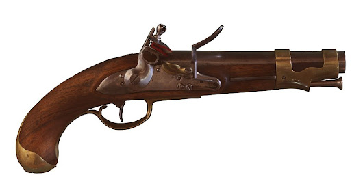 "French ""AN IX"" Cavalry Pistol 1801"