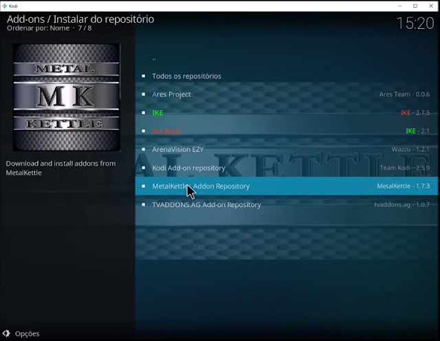 Metalkettle Addon Repository