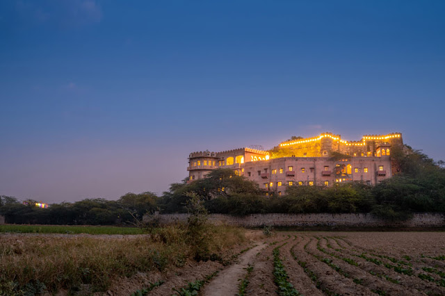 review fort kesroli neemrana rajasthan luxury hotel india