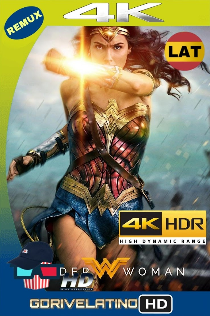 La Mujer Maravilla (2017) BDRemux 2160P 4K HDR Lat-Cas-Ing mkv