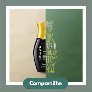 Promoção - Troque sua embalagem vazia por um produto de make novo em folha!  O Boticário edf7c07af4