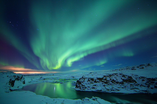 Top 10 Places See Northern Lights