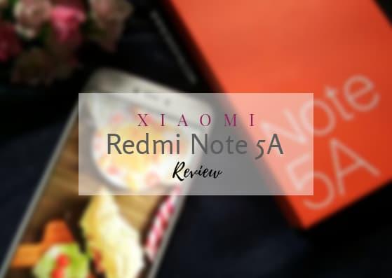 Xiaomi Redmi Note 5A Review : Smartphone Cantik dengan Harga Terjangkau