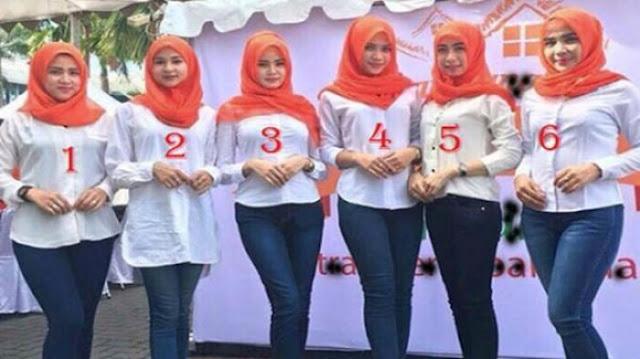 Anda Pilih Wanita Nomor Berapa? Hasilnya akan Perlihatkan Kepribadian Anda