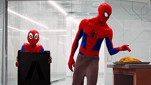 Review Spider-Man Into the Spiderverse (2018) indonesia