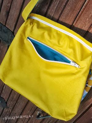 как сделать карман в сумке