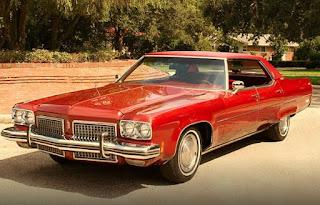1973 Oldsmobile 98 Luxury Sedan Side Front