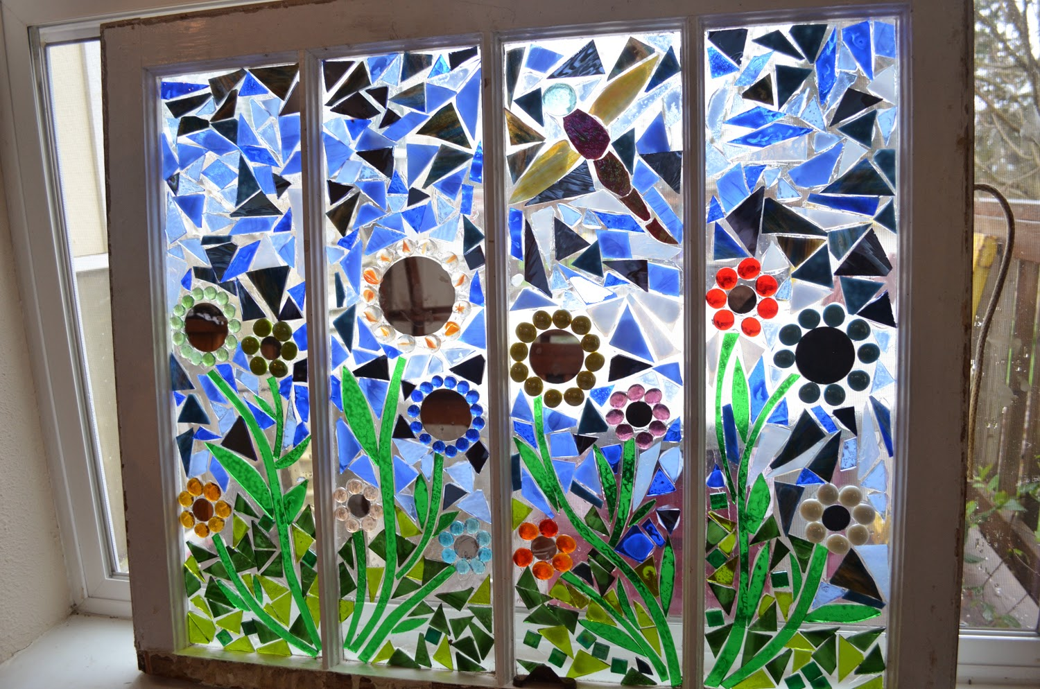 Make Mosaics With Stained Glass Patterns