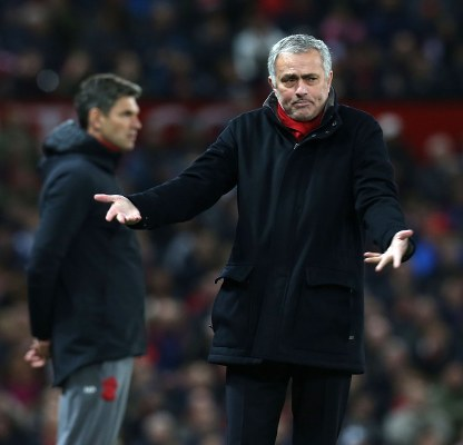 "Mourinho ""Pleased"" With United Players, Blames Ref For Southampton Draw"
