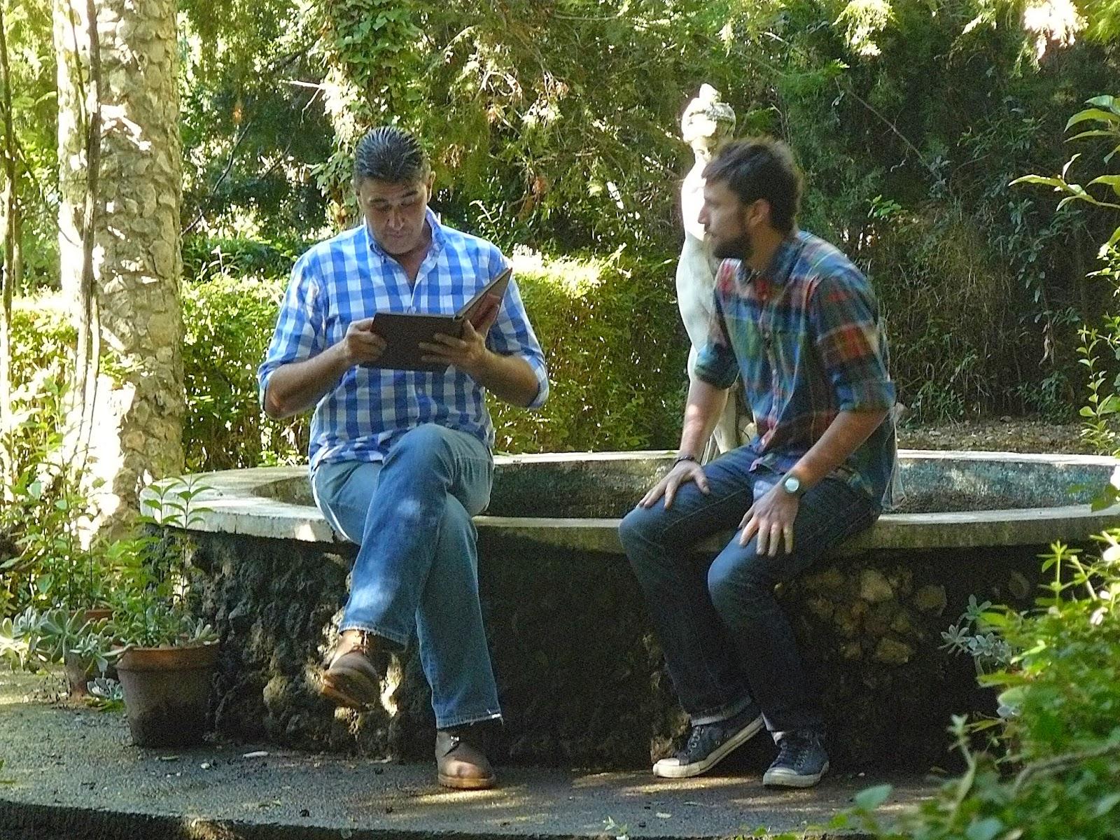 Pedro Oliva y Daniel Yranzo en Casa Rural Torre de Campos