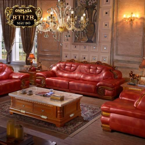 Ảnh: Ghế sofa cổ điển BT12B