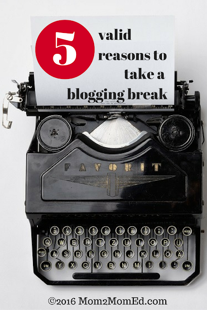 Reasons not to blog